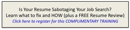 Ad Resume Webinar 1 Are You Sabotaging Your Job Search?