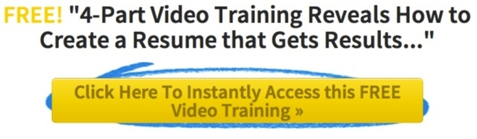 Resume Video Ad Goal Setting for a Successful Job Search