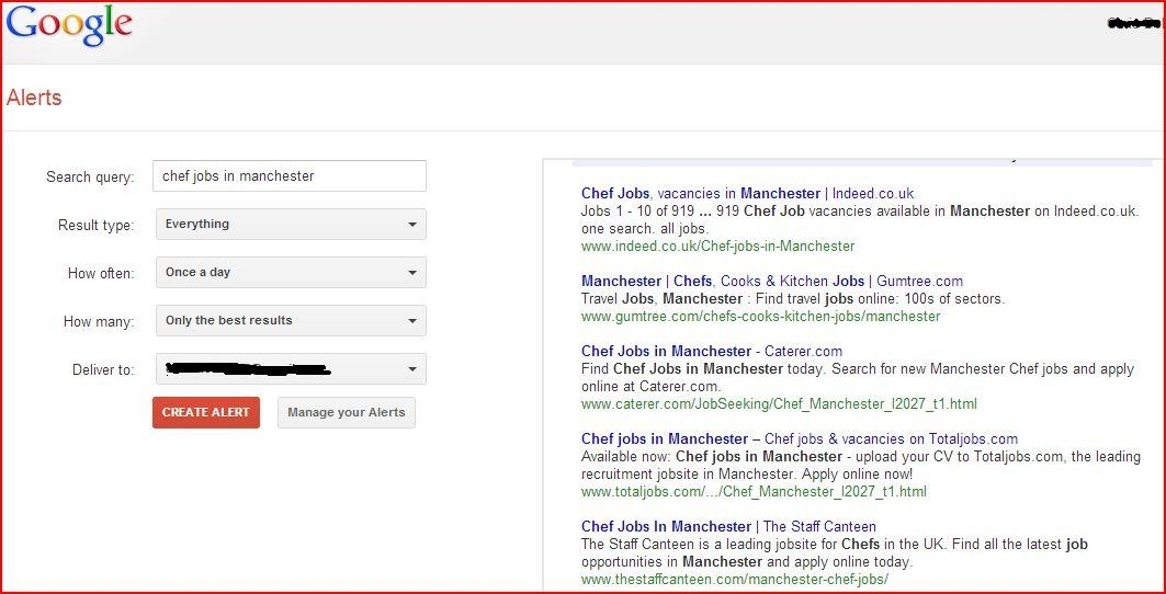 Find Out About Job Openings First With Google Alerts