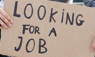 Look for Job Without Saying