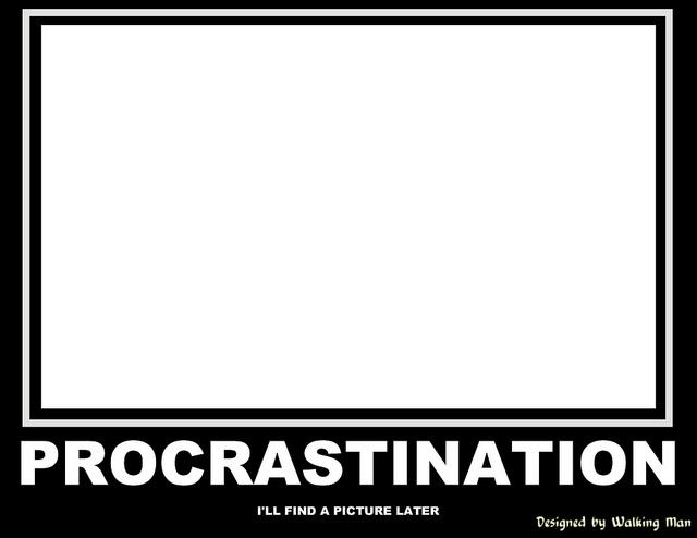 4 Step Plan - Procrastinators