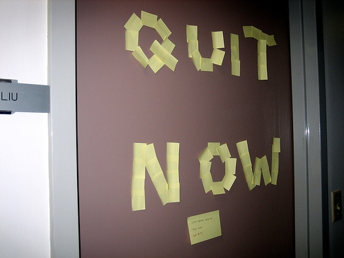 Time to Quit