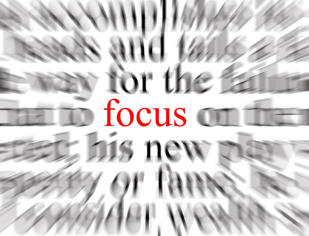 """Focus on the """"Now"""""""