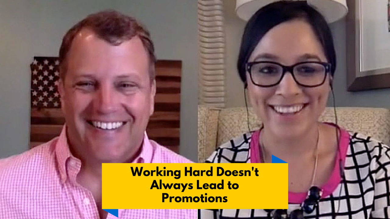 Why Working Hard May Not Get You Promoted