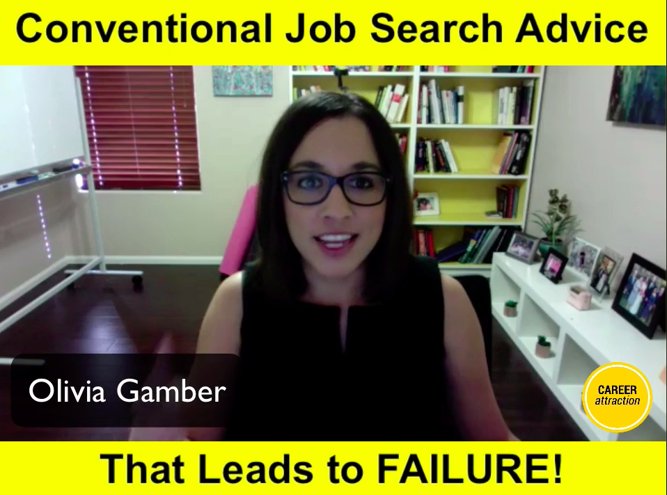 Conventional Job Search Advice That Leads to Failure