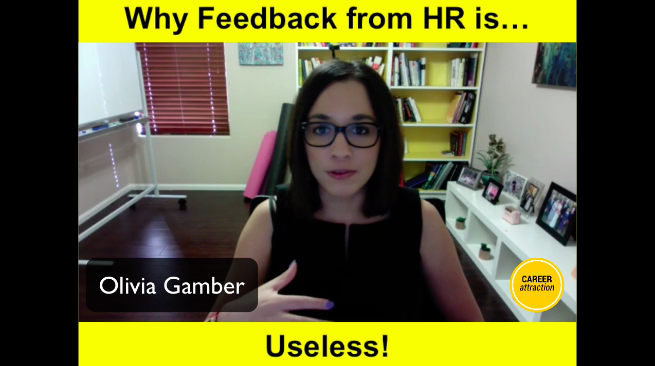 Why Feedback from HR is Useless