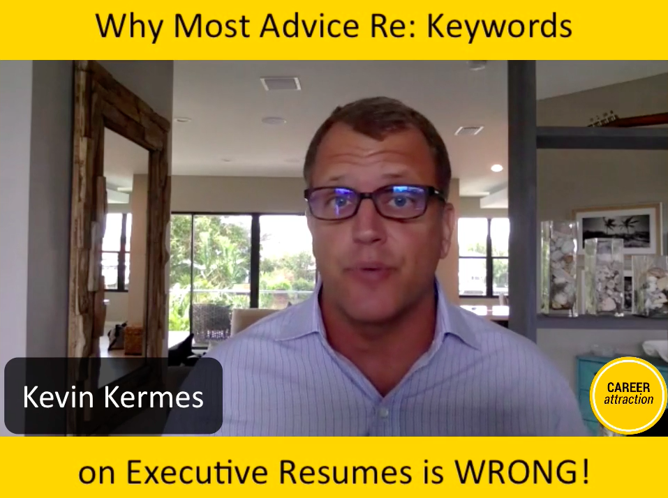 Why Most Advice Re: Keywords on Resumes is Wrong