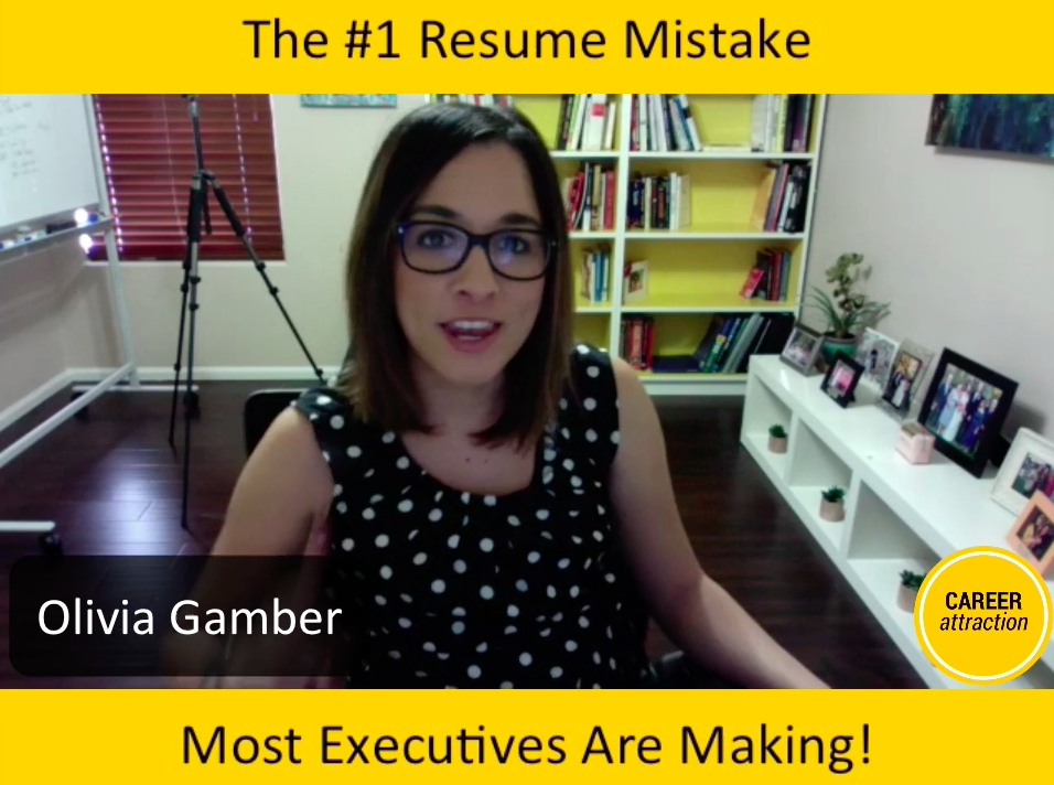 The #1 Resume Mistake Executives Make